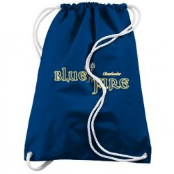 "Drawstring bag ""Blue Fire"""