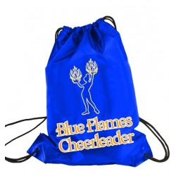 "Drawstring bag ""Blue Flames"""