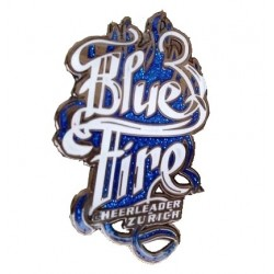 Pin's Blue Fire