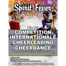 Affiche Spirit Fever Open 2014