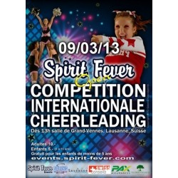 Affiche Spirit Fever Open 2013