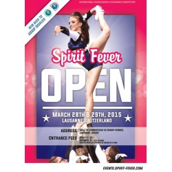 Affiche Spirit Fever Open 2015
