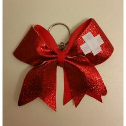 Mini Ruban Suisse porte-clés