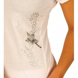 T-shirt étoiles imprimées